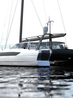 Image Gallery Daedalus Yachts. View our gallery of Interior and Exterior views. Underwater viewing lounge, wind turbines, galley, advanced features.
