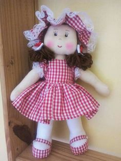 Doll Sewing Patterns, Baby Knitting Patterns, Amigurumi Patterns, Baby Patterns, Clay Crafts, Diy And Crafts, Fabric Toys, Beautiful Dolls, Baby Dolls