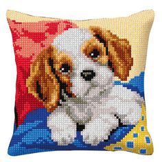 Photos de Breath of Beads, Cat Cross Stitches, Cross Stitch Charts, Cross Stitch Designs, Cross Stitch Embroidery, Cross Stitch Patterns, Beaded Flowers Patterns, Cross Stitch Cushion, Pixel Art Templates, Dog Crafts