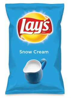 Go like my chip!  Wouldn't Snow Cream be yummy as a chip? Lay's Do Us A Flavor is back, and the search is on for the yummiest flavor idea. Create a flavor, choose a chip and you could win $1 million! https://www.dousaflavor.com See Rules.