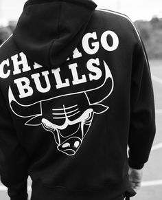 The Kooples - Black hoodie with Chicago Bulls logo - MEN