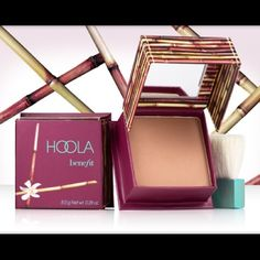 Benefit Hoola Matte Bronzer NWT. This listing is for one item, but I have two available.  ---  * BUNDLE & $AVE  * NO SWAPS  * SMOKE/PET-FREE HOME  * SHIPS WITHIN 2 BUSINESS DAYS * FOR 10% OFF FOLLOW ME:  Instagram: CuppaKen  YouTube: NeneKennedy  Twitter: CuppaKen  Web: CuppaKen.com Benefit Makeup Bronzer