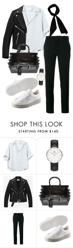 """Sin título #306"" by franciscagomezm on Polyvore featuring moda, Daniel Wellington, Yves Saint Laurent, Roland Mouret, Puma y donni charm"