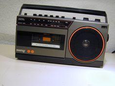 Radiorekorder MW/UKW 1027 MW/UKW BATTERIE / STROM 220VOLT mit O- Gerätekarton