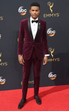 Trevor Jackson from 2016 Emmys Red Carpet Arrivals     In Anthony Franco