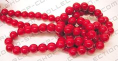 Glass Pearl Beads, Round, Red Color    Size 4mm about 230 pcs, about 23grams  Size 6mm about 130 pcs, about 46grams  Size 8mm about 90 pcs, about 80grams  Size 10mm about 70 pcs, about 116grams | Shop this product here: spreesy.com/shenoutebeads/900 | Shop all of our products at http://spreesy.com/shenoutebeads    | Pinterest selling powered by Spreesy.com