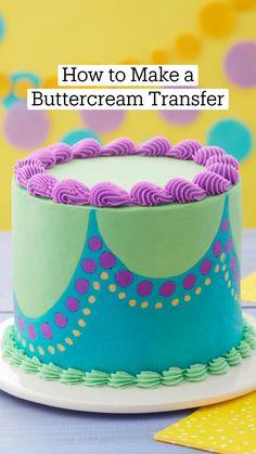 Cake Decorating Icing, Cake Decorating Techniques, Cake Decorating Tutorials, Cookie Decorating, Cupcake Icing Tips, Frosting Recipes, Cupcake Cakes, Cake Hacks, Cake Business