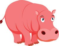 Free Hippo Clipart - Clip Art Pictures - Graphics - Illustrations Clipart Design, Clipart Images, Clip Art Pictures, Animal Pictures, Popup Menu, Classroom Clipart, Love Wallpaper, Animals Images, Graphic Illustration