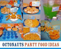 Octonuats Birthday Party Food Ideas