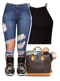 """0.2"" by bryannilove ❤ liked on Polyvore featuring Louis Vuitton and Retrò"