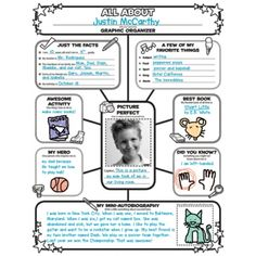 Graphic Organizer: All-About-Me-Web, SC501537