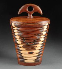 Lidded Vessel by Terry Evans