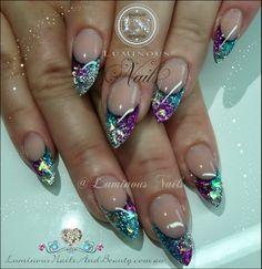 Luminous Nails squared