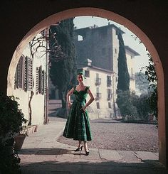 Fashion in Italy, 1950s by Vintage Italy, via Flickr