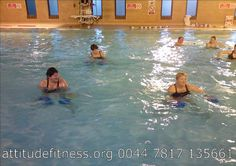 WOGGLEbods by ATTITUDE FITNESS. Water fitness for ALL ages.     Visit  http://okbehealthy.com    Workout is good for our life!!!!your quality of life is important and you are also!!!