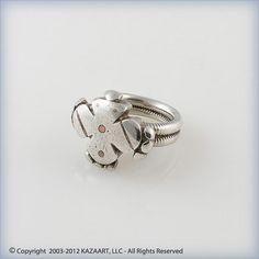 Old Fulani Peul African Silver Ring Mali   eBay