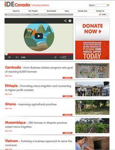 Micro Irrigation, Business Advisor, Farm Business, Donate Now, Setting Goals, Farmer, Canada, Marketing