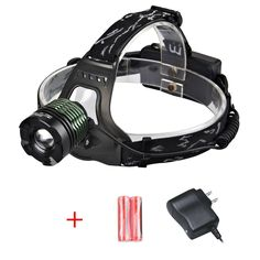Zoweetek Waterproof Headlamp LED 800 Lumens Helmet Light with Rechargeable Batteries for Camping, Running, Hiking, Reading Etc Helmet Light, Hiking, Camping Stuff, Led, Running, Lanterns, Collections, Outdoor, Lights