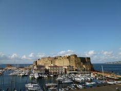 """Panorama, Camera di """"Grand Hotel Santa Lucia"""", Napoli Italia (Maggio)"""