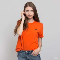 Vans WM Boulder Top oranžové za 720 Kč: Oranžové dámské tričko skrátkými rukávy od značky Vans sdecentním logem na předníčásti. Focena velikost S. Modelka měří 175cm a váží 52kg ...