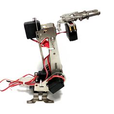 Stainless Steel Manipulator Rotating Assembled Robot Arm Clamp Claw Mount With Servo Robot Kits, Rc Robot, Robot Arm, Battle Robots, Clamp, St Kitts And Nevis, Arms, Stainless Steel, Christmas Sale