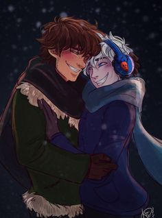 Hijack Week December 2015, Day 1.Fools or something like that haha <----- I don't ship them but this is very well done
