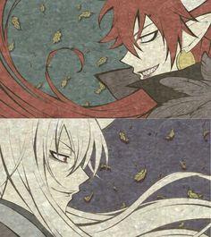 Demon Akura-ou and Tomoe from the past - Kamisama Kiss screenshot season 2 (Kamisama Hajimemashita)