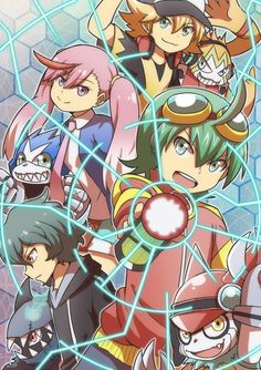 #Digimon Universe, Appmon, Characters