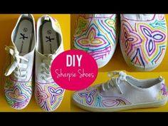 DIY Sharpie Shoes Tutorial