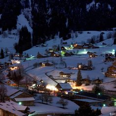 Grindelwald, Switzerland been here so many times in late teens and early twenties, winter, summer .....any time is a good time to go here!  Love it!