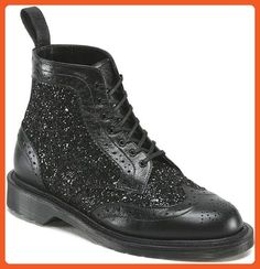 Dr. Martens Women's Surya Brogue Boots,Black,7 M UK / 9 B(M) US - Boots for women (*Amazon Partner-Link)