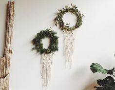 macrame wreaths!