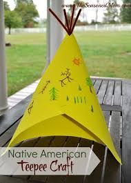 preschool indian teepee craft - Google Search