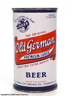 Old German Premium Lager Beer (Cumberland, MD)