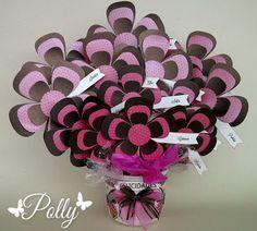 Manualidades Polly: Arreglo con flores