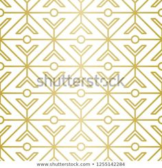 Luxury Geometric Pattern Seamless Vector Lines Stock Vector (Royalty Free) 1255142284 Golden Pattern, Geometric Lines, Background Patterns, Royalty Free Stock Photos, Graphic Design, Luxury, Illustration, Illustrations, Visual Communication