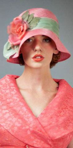 flapper style cloche hat - Best Hats for women with short hair - CLICK TO READ at http://boomerinas.com/2013/05/best-hat-styles-for-women-with-short-hair/