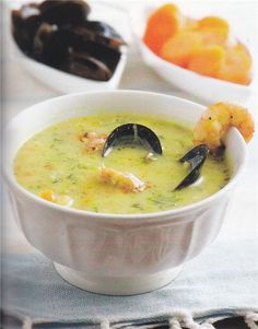 Greek Recipes, Fish And Seafood, Soups And Stews, Cheeseburger Chowder, Seafood Recipes, Food Porn, Food And Drink, Cooking, Sweet