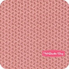 Romantic+Olde+Charleston+Coral+Ditsy+Flowers+Yardage+SKU#+0791-0126