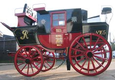 The carriage I use to take the long trips from the city to the countryside