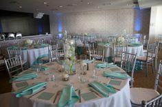 Reception Room #hotellaguna #reception #tiffanybluewedding #spearmintwedding