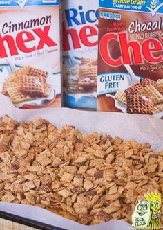 Snickerdoodle Chex Mix [Gluten Free]  @Sarah Chintomby Chintomby Chintomby Chintomby Dillard