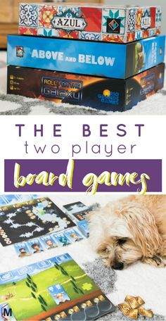 The best two player board games and a cute dog too! The best two player board games and a cute dog too! Games For Two People, Board Games For Two, Board Games For Couples, Group Games For Kids, Family Board Games, Games For Teens, Couple Games, Kids Party Games, Kids Board
