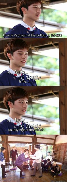When Sungjae was asked to rank the SuJu members on looks | allkpop Meme Center