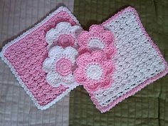 Crocheted Washcloths and Scrubbies