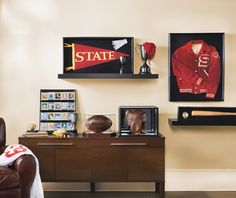 Frame Game - Showcase your sport memories in style with frames and shadow boxes for memorabilia.