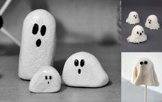 Buuu! Snart är Halloween här och vi tipsar om 40 söta spöken du kan pyssla.
