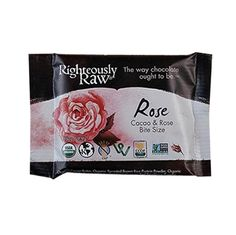 Rose and Cacao Bite Size Bar by RIGHTEOUSLY RAW