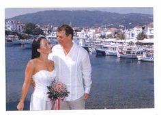 The pretty island of Skiathos has no less than 60 sandy beaches, including the highly acclaimed Koukounaries Beach, along 40 km of coastline. It's a perfect wedding destination http://www.planetweddings.co.uk/greece_skiathos.html