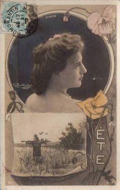 Piron.  Reutlinger Postcards. Été.  SIP Series 971
